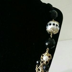 "BirchHill Jewelry - Bold statement 5 layer goldtone necklace 32"""
